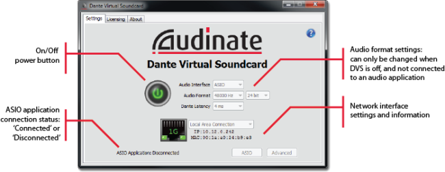 How to Change Dante Virtual Soundcard Settings