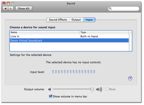 sound cards for mac os x