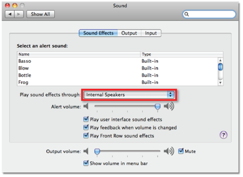 Choosing DVS as your Audio Interface - OS X